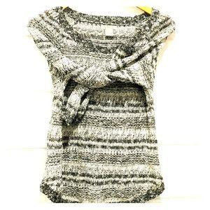 Lucky brand Gray and cream sweater